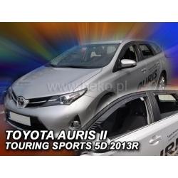 Vėjo deflektoriai TOYOTA AURIS II 5 durų Touring 2012-2018 (Priekinėms ir galinėms durims)