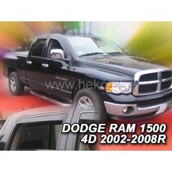 Vėjo deflektoriai DODGE RAM 1500 4 durų 2002-2008 (Priekinėms ir galinėms durims)