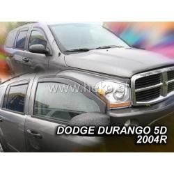 Vėjo deflektoriai DODGE DURANGO 5 durų 2004-2010 (Priekinėms ir galinėms durims)
