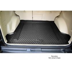 Guminis bagažinės kilimėlis NISSAN Note 2012->, black /N280430