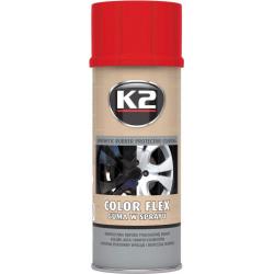 Gumuoti dažai K2 COLOR FLEX 400ml (raudoni)