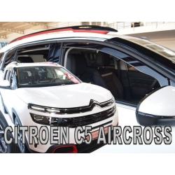 Vėjo deflektoriai CITROEN C5 Aircross 2019→ (Priekinėms ir galinėms durims)