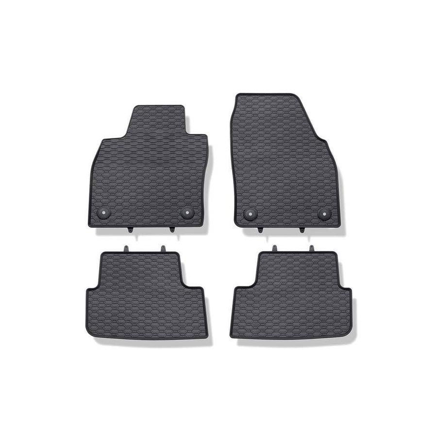 Guminiai kilimėliai AUDI A3 (8V) 2013→ (su gamykliniais fiksatoriais)