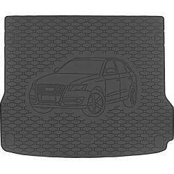 Guminis bagažinės kilimėlis AUDI Q5 2008-2017 (Standartiniais kraštais)