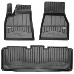 Guminiai kilimėliai Pro-Line 3D TESLA Model S 2012→ (Aukštu borteliu)