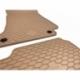 Guminiai kilimėliai MERCEDES BENZ E-Klasė Coupe (C238) 2017→ (Su originaliais tvirtinimais, Smėlinės spalvos)