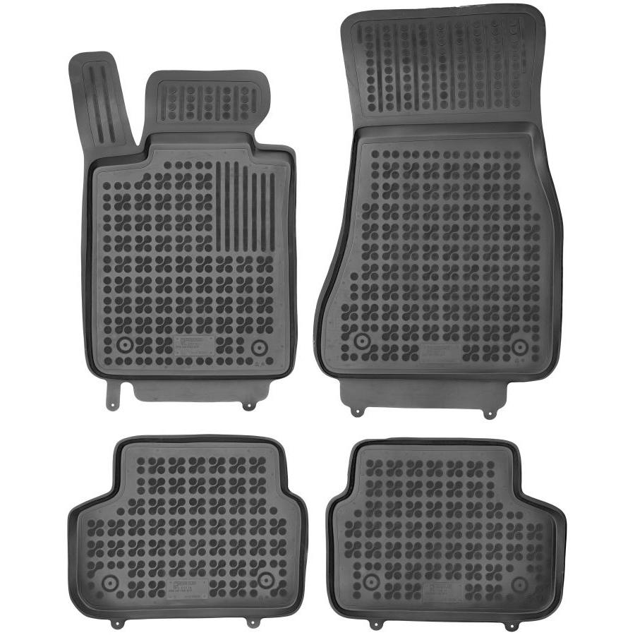 Guminiai kilimėliai BMW 5 Sedan (G30) 2020→ (Paaukštintais kraštais)